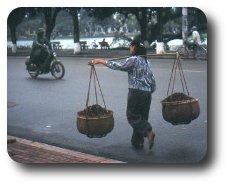Kvinna i Hanoi