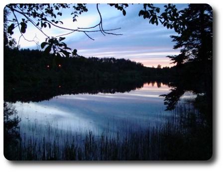 sjön Näknen i Östergötland