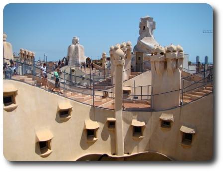 takbild från Barcelona