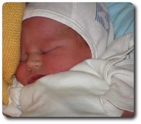 Överraskningen som nyfödd