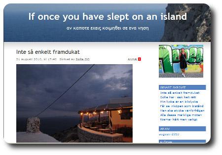 Särmdump från bloggen ifråga