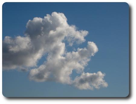 vad ser du i molnet?