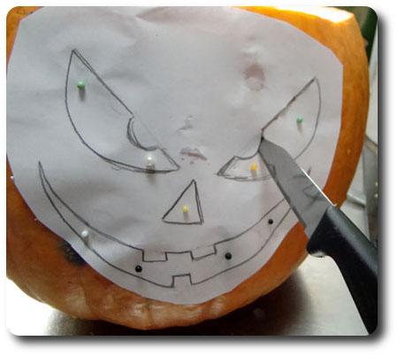 Halloweenpumpa fixas