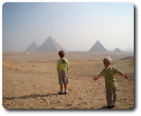 Jag gav dem Egyptens pyramider