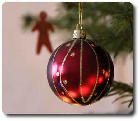 julgran - detalj