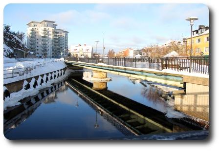Karlshamn vid nyårstid