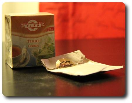 Te av lindblommor? och roibos från Sydafrika