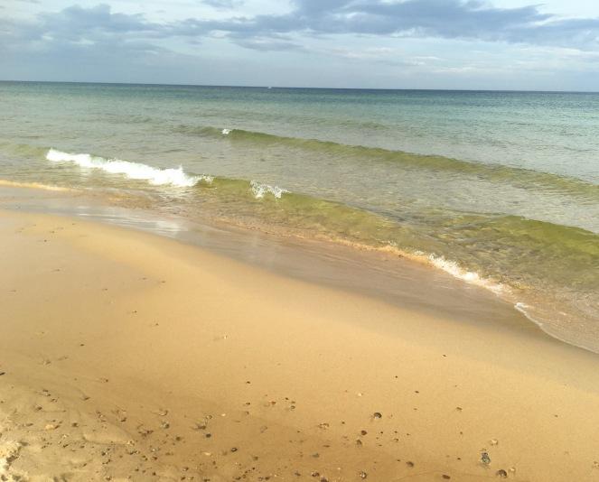 Sandstranden vid Knäbäckshusen - Sveriges vackraste strand